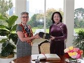 La vice-présidente Dang Thi Ngoc Thinh accueillie en Australie