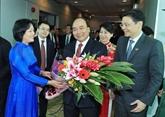 Le PM Nguyên Xuân Phuc à Singapour
