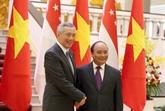 Renforcer le partenariat stratégique Vietnam - Singapour