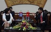 L'ambassadrice cubaine rend visite à Quang Binh