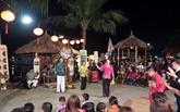 Réception du certificat de l'UNESCO pour l'art du bài choi