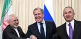 La Russie, l'Iran et la Turquie saluent les pourparlers d'Astana sur la crise syrienne