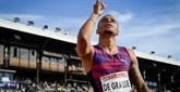 Athlétisme: De Grasse 4e du 100 m pour son retour après neuf mois d'absence