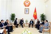 Le chef du gouvernement reçoit l'ambassadeur d'Allemagne au Vietnam