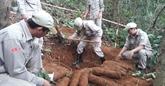 Pour surmonter les conséquences des bombes et des mines