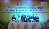 Création de chaînes de valeur à deux économies Vietnam - Australie