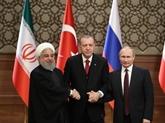 Appeler à un cessez-le-feu durable et au respect de l'intégrité territoriale de la Syrie
