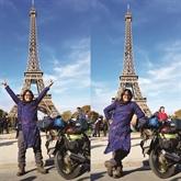 Paris est juste la première étape de mon parcours