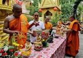 Félicitations aux Khmers à l'occasion de la fête Chôl Chnam Thmây