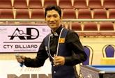 Billard : Ngô Dinh Nai conserve le titre de champion d'Asie de carambole à une bande
