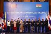 Réunion de hauts officiels de l'ASEAN-Inde à Hanoï