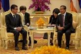 Le Japon et le Cambodge renforcent leur coopération bilatérale