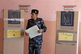 Irak: policiers et soldats ont voté en avance pour les législatives