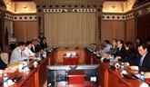 Hô Chi Minh-Ville et la préfecture de Nagasaki favorisent les échanges détudiants