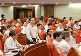 Les questions discutées au 7e plénum du CC du PCV attirent l'attention du public