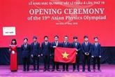 Les huit élèves vietnamiens médaillés aux 19es Olympiades de physique dAsie