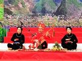 Diverses activités du festival du chant then et du dan tinh 2018