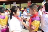 Troisième rencontre amicale des enfants frontaliers Lang Son - Guangxi