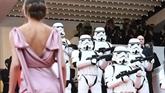 Les stormtroopers de Star Wars et Chewbacca débarquent à Cannes