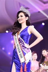 Une Vietnamienne remporte le titre de Miss Global Tourism