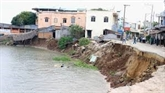 Traitement des glissements de terrain dans le delta du Mékong