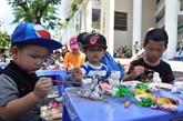 Hô Chi Minh-Ville:Phú My Hung fête les enfants