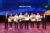 Remise des prix du Concours national de qualification professionnelle