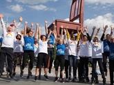 Le Vietnam participe à une course/marche organisée par lOMS à Genève