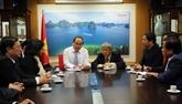 Une délégation de Hô Chi Minh-Ville en Israël