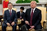 Donald Trump évoque un possible report du sommet avec Kim Jong Un