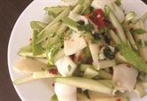 Goi muc táo xanh - Salade de granny smith et de calamar