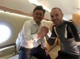 Transfert: l'astre Iniesta se couche au Barça et se lève au Japon