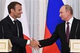Poutine et Macron discutent d'une aide humanitaire en faveur de la Syrie