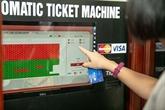 Billetterie automatique au Théâtre des marionnettes sur l'eau de Thang Long