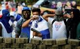 Dialogue gelé au Nicaragua après plus d'un mois de crise et 78 morts