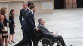Hospitalisation de l'ancien président américain George H.W. Bush