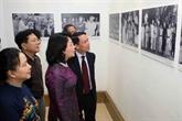 Ouverture de l'exposition de photos