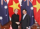 Réunion des ministres des Affaires étrangères Vietnam - Australie
