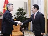 Pham Binh Minh souhaite promouvoir le partenariat avec les États-Unis