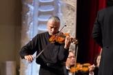 Le violoniste Stéphane Trân Ngoc en concert à Hô Chi Minh-Ville
