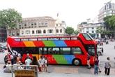 La capitale Hanoï en bus à impériale à toit ouvert