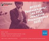 Lancement de la 3e édition des Prix Jeunesse Francophone 3535