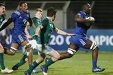 Mondial U20 de rugby: la France renverse l'Irlande