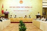 Conférence de presse périodique d'avril du gouvenement
