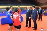 Tennis de table: les deux Corées s'unissent aux Mondiaux par équipes