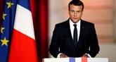 La cote de popularité du président français Macron en légère hausse en mai