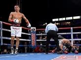 Boxe - Moyens: Golovkin balaye Martyrosian et donne rendez-vous à Alvarez