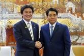 Le Japon s'engage à aider Hanoïdans la protection de l'environnement