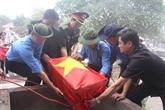 Thanh Hoa: inhumation des restes de 23 volontaires tombés au Laos