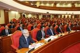 Première journée de travail du 7e plénum du Comité central du Parti (XIIe exercice)